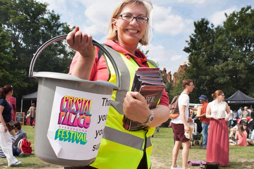 Crystal Palace Festival Volunteer
